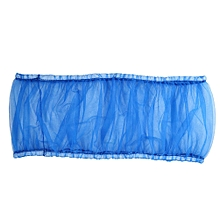 New Nylon Mesh Bird Parrot Cage Seed Catcher Cover Shell Guard Pet Products(Blue)