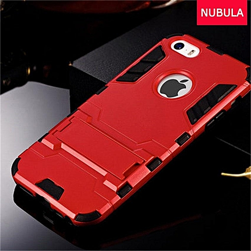 half off c7bb2 29f70 360 Degrees Ultra-thin Hard Back Cover For Iphone 5 / for iphone 5S / for  iphone 5SE Detachable 2 In 1 Hybrid Armor Shell Case Dual-Layer Full ...