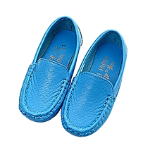 Children Shoes Casual Sneakers Shoes Boys Sports Shoes Sneakers Boat Shoes BU/21-Blue