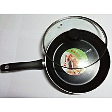 Scovo Aluminium Non Stick 26CM Frying Pan / Stewpan / Skillet With glass Lid
