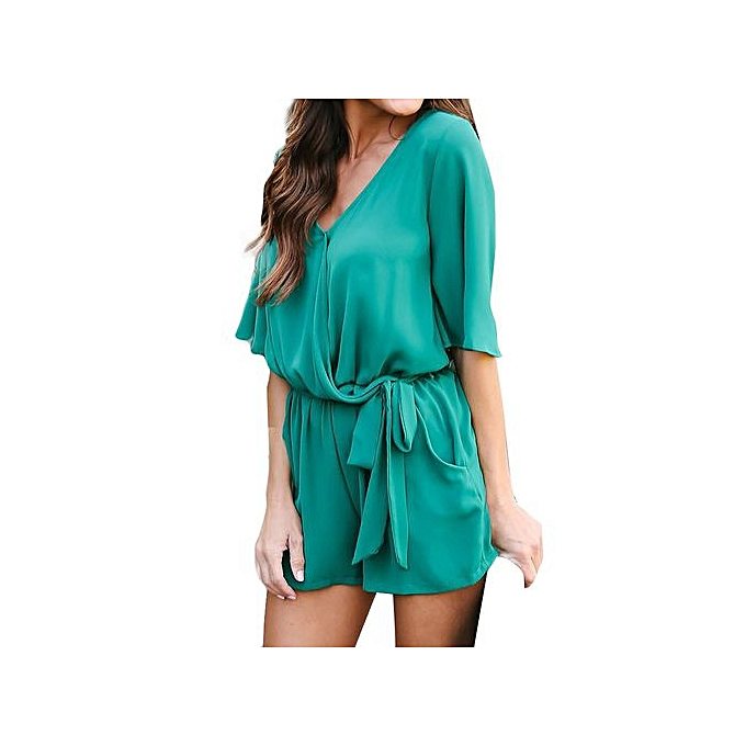 314c8ef19e 2018 Fashion Trend Womens Backless Shiny Velvet Jumpsuit Ladies Party  Rompers