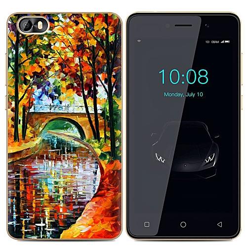 Elegant TECNO F3 Phone Case Soft TPU Shockproof Silicone Clear Back Cover