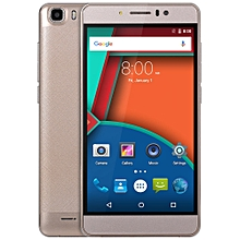 M12 5.5 Inch 3G Phablet Android 5.1 MTK6580 Quad Core 1.3GHz 1GB RAM 8GB ROM WiFi Cameras Bluetooth 4.0-CHAMPAGNE GOLD