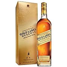 Gold Label Reserve Blended Scotch whisky - 750ml