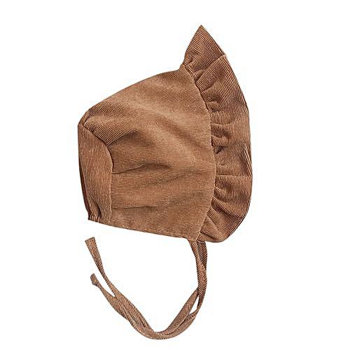 ff31b640dc2 Fashion Zetenis Newborn Baby Girls Flounce Kid Princess Girls Hat ...