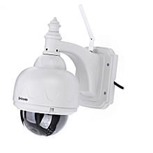 SRICAM SP015 720P H.264 WiFi IP Camera Outdoor Security Cam-LIGHT GRAY