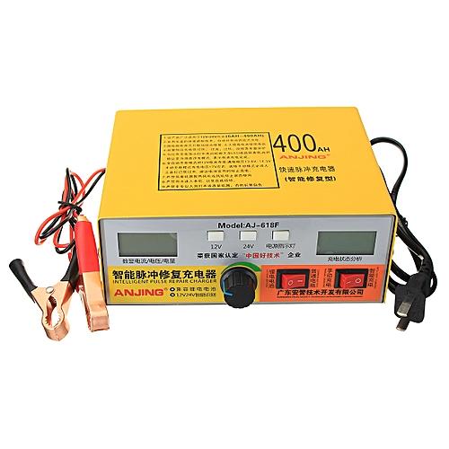 Automatic Intelligent Pulse Repair Type 12v 24v 400ah Car Battery Charger Aj 618 U S Regulations