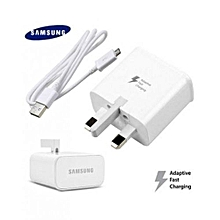 Samsung charger (Fast-Charging) - White