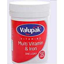 Multi Vitamin & Iron One a Day 50 tablets