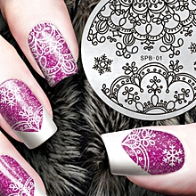 DIY Fashion Nail Art Stamping Plate Manicure Stamp Template Stamping Tool A