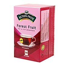 25 Pride Forest Fruit Tea Bags - 50g