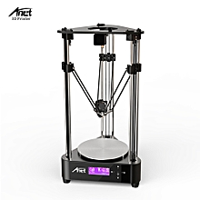 A4 Delta 3D DIY Printer Kit Printing Size φ200 * 210mm Tripod Integrated Machine Box High Precision Stability Easy to Assemble with 0.5Kg PLA Filament & 8GB Memory Card