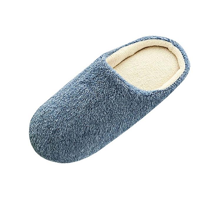 396bfa07d89b birthpar store Men Warm Home Plush Soft Slippers Indoors Anti-slip Winter  Floor Bedroom Shoes