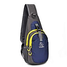 Men Nylon Light Weight Crossbody Bag Outdoor Sport Chest Bag Shoulder Bag