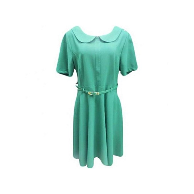 54c566b4342a Dress Up Women s Skater Dress - Green   Best Price
