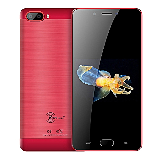S9 4G Phablet 5.5 inch Android 7.0 Quad Core 2GB+16GB - RED