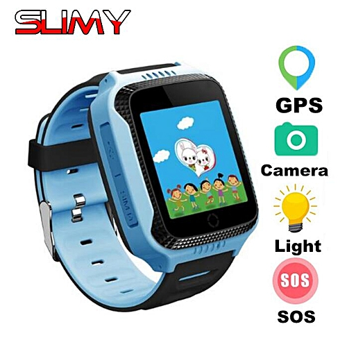 5f56497fda0 Generic Q528 GPS Smart Watch Baby Kids With Camera for IOS Android Phone Child  Smartwatch GPS Tracker Smart Electronic PK Q50 Q90( Orange)
