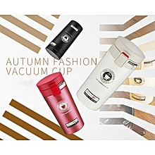 380ml Vacuum Stainless Steel Student Thermos Cup Portable Creative Vacuum Flasks Coffee Cup
