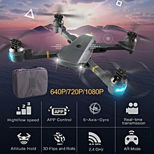 Drone Quadcopter High Performance ABS 1080P 120 Degree Camera One Key Take Off Aircraft Helicopter LED Lighting