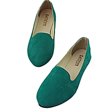Women Flat Shoes   grass green