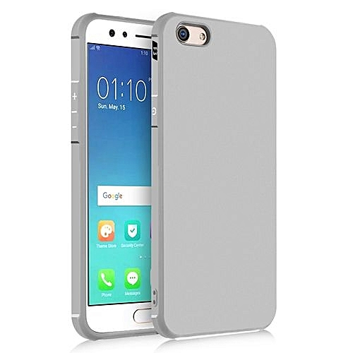 brand new 1648d 68d09 OPPO F3 Silicon Case, Matte TPU Anti-knock Phone Back Cover For OPPO  F3-gray.