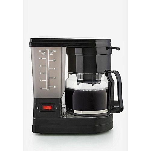 1.2L Coffee Maker - Black..