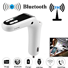 Hiamok_Car FM Transmitter Bluetooth Hands-free LCD MP3 Player Radio Adapter Kit Charger