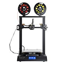 Creality 3D CR-X DIY 3D Printer Kit 300*300*400mm 4.3'' Touch Screen Dual-color