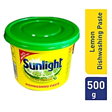 Sunlight Dishwash Paste Lemon - 500g