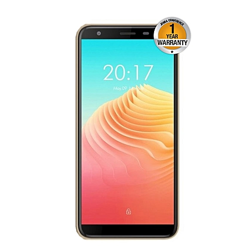 "S9 Pro - 5.5"" - 16GB - 2GB RAM - (13MP+5MP) Dual Camera, 4G (Dual SIM), Gold"