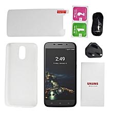 UHANS A6 5.5 2GB RAM+16GB RAM Quad Core Phone Support Fingerprint UK Plug'