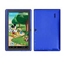 A7-Tablet 7 Inch- Android 6.1-16GB-1GB DDR3-Wi-Fi-4G LTE-Quad Core-Dual Sim-Dual Camera- Blue
