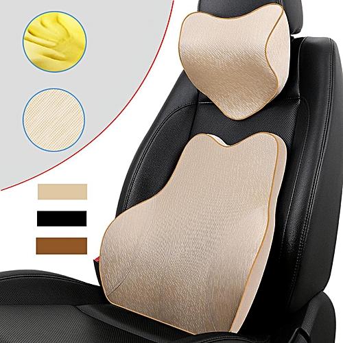 Buy Generic Memory Foam Car Seat Cushion Lumbar Back Support Head
