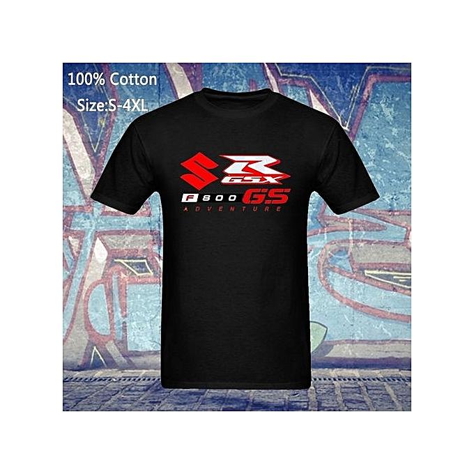 2b00f0ee792f HOT Suzuki T-Shirt F 800 Adventure GSX Racing GSXR Bike Dainese Motorbike  Customized Mens