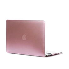"""13"""" Air Case, Metal-color Hard Rubberized Cover For Macbook Air 13.3 Inch, Pink"""