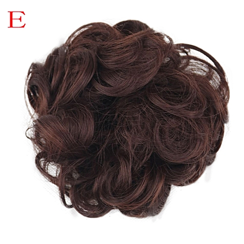 Generic Africanmall store Women s Curly Messy Bun Hair Twirl Piece  Scrunchie Wigs Extensions Hairdressing-Multicolor   Best Price  9f86c3229