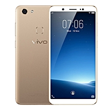 Vivo V7 4G Phablet 5.7 inch Android 7.1 Qualcomm Snapdragon 450 Octa Core 1.8GHz 4GB RAM 32GB ROM 24.0MP Selfie Camera 3000mAh Battery Fingerprint Sensor - GOLDEN