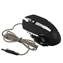 Dragon Faction T19 Wire Light Game Mouse Built-in Heavier Iron Four Gears Variable Speed DPI Adjustment Piano Baking Process