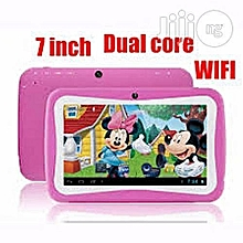 Kids Tablet- 7.0 inch - Android 5.1 Kids Tablet - Quad Core 1.3GHz - 512MB RAM 8GB ROM - WiFi Bluetooth - Pink.