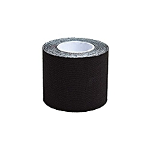 Sports Bandage Physio  Muscles Care Injury Support Sport Tape Kinesiology Strap Sticker - Black