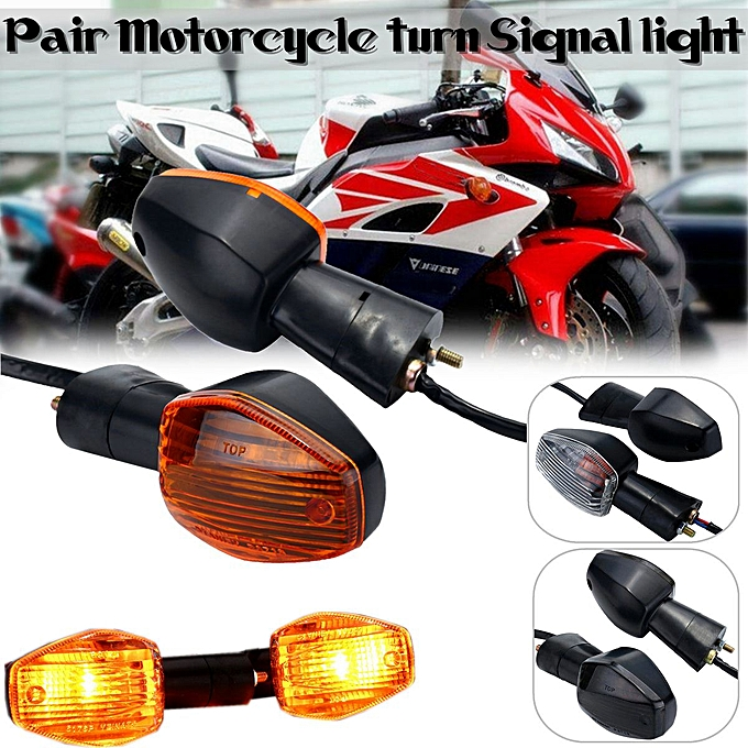 Generic 1 Pair Smoke Turn Signal Light Indicator For Honda CB400