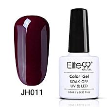 10ml UV/LED Gel Nail polish-Wine Red series(JH009)