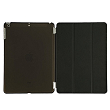 Magnetic Smart Cover Case For Apple iPad Air 2 Auto Wake/Sleep (Black) HSL-G