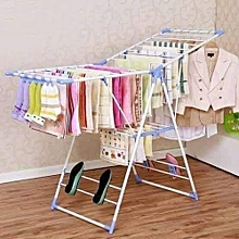 Outdoor Foldable clothes drying rack