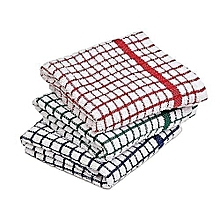 Kitchen towel 30 x 30 cms Pack of 3 Assorted
