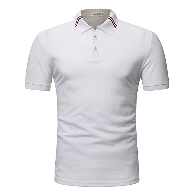 Men s Polo Shirt For Men Polos Men Cotton Short Sleeve shirt Clothes  jerseys golftennis Plus Size 3d26c26a7c0a