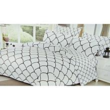 Duvet Kingsize, Black and White, 300 Thread Count