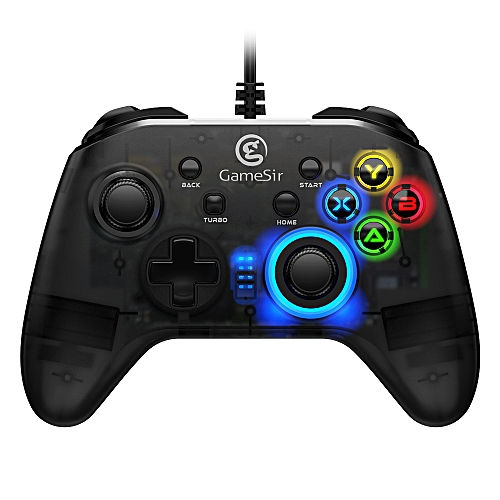 GameSir T4w USB Wired Controller Support Vibration USB Wired Gaming Gamepad  for Windows (7/8/9/10) PC DNSHOP