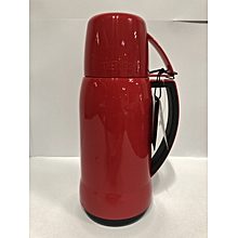 Mars - Glass Vacuum Insulated Flask - 0.5L- Red