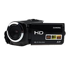 bluerdream-Full HD Camera 1080P 16MP Video Camera LCD 8X Zoom Camcorders Recorder-Black